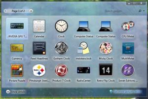 Gadget Bawaan Windows 7